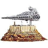 LZWNB 5162 PCS 21007 MOC-18916 Star Toys Destroyer Cruise Ship The Empire Over Jedha City Model Sets Building Blocks Bricks Toy Gift