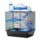 Pet Ting Jackson Cage à Hamster avec Tubes Roue Gerbille, Souris, Hamster Nain
