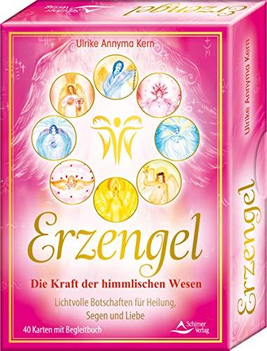 Erzengel – Die Kraft der himmlischen Wesen – Lichtvolle Botschaften für Heilung, Segen und Liebe Kartenset: - 40 Karten mit Begleitbuch