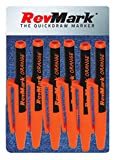 RevMark Bright Series Industrial Marker - 6 Pack - Made in USA - Replaces paint marker for metal, pipe, pvc -...