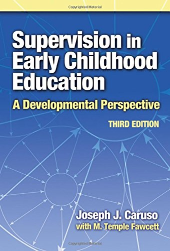 Supervision in Early Childhood Education (Early Childhood Education Series)