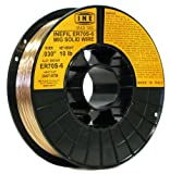 INEFIL ER70S-6 .030-Inch on 10-PoundSpool Carbon Steel Mig Solid Welding Wire