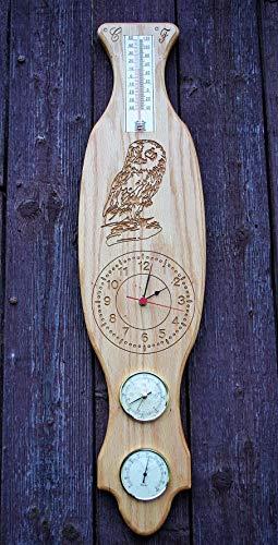 Wetterstation aus Holz