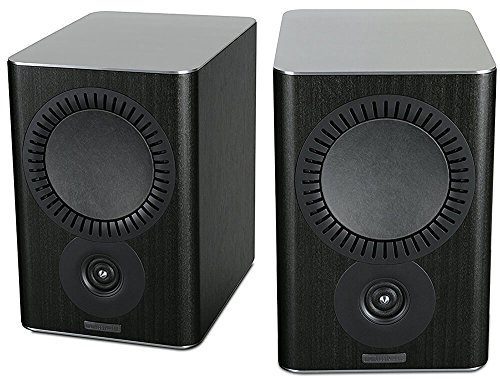 Mission QX-2 - Altavoces para estantería, color negro
