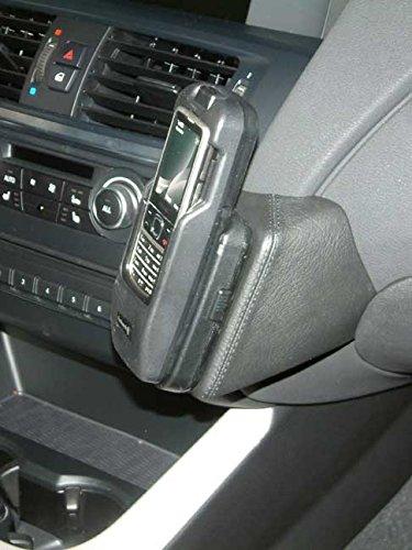 KUDA 092555 Halterung Kunstleder schwarz für BMW X3 (F25) ab 11/2010 / X4 2014 bis 2017