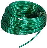 Suki 3819143 - Rollo de cable para tender (acero plastificado, 3,5 mm x 30 m), color verde