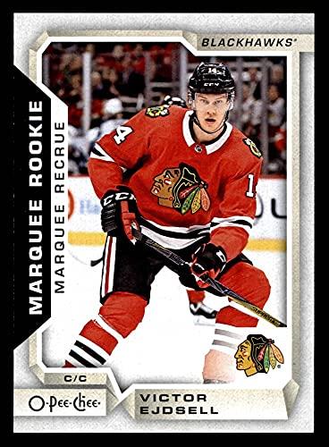 2018 O-Pee-Chee # 517 Victor Ejdsell Chicago Blackhawks (Hockey Card) NM/MT Blackhawks