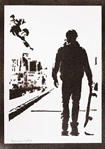 Tony Hawk's Pro Skater Poster Plakat Handmade Graffiti Street Art - Artwork