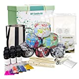 CREASHINE Supplies DIY Candle Making Kit DIY Scented Candles Gift Set for Women