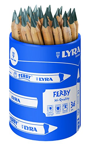 Ferby 4.75' Triangle Graphit Pencil, Box of 36