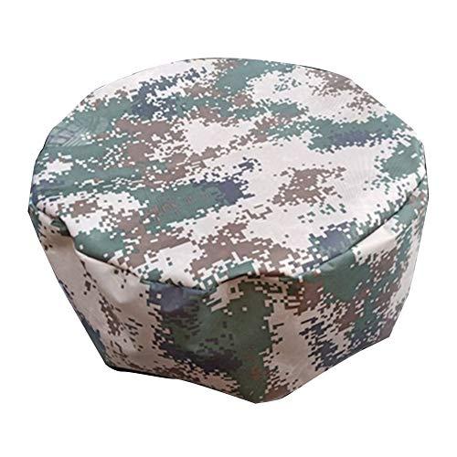 Rond Couvertures de Meubles Nappe en Rotin Imperméable Coupe-Vent Anti-UV Oxford Extérieur Patio, Camouflage, Personnalisable ALGFree (Color : A, Size : 240x100cm)