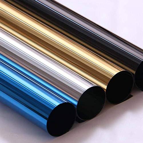 SNNH reflecterende glas stickers, zonnebrandcrème een manier spiegel film gemakkelijk remova voor thuis kantoor raamfolie