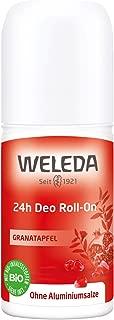 Weleda Pomegranate 24h Roll On Deodorant, 50 Milliliter