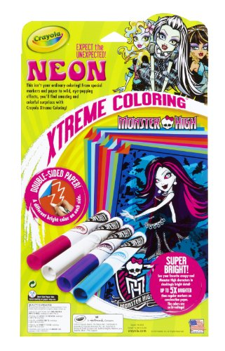 Crayola Neon Extreme Monster High Coloring Kit Buy Online In Gambia At Desertcart