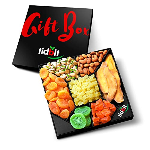 Fruit & Nut Platter, Perfect Gift Box For Everyone- For Healthy Snacking on a Night in-Healthy...
