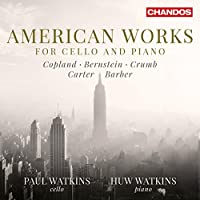 American Works for Cello & Piano by Paul Watkins