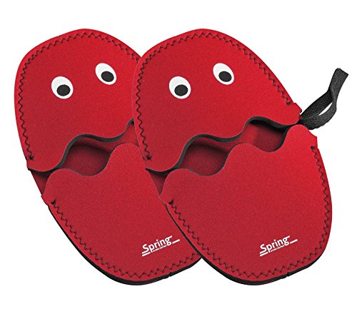 Spring Grips 2094025602, rot 1 Paar Griffschutz Ghost, thermoresistentes Material, 24,5 x 16,5 x 2 cm