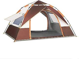 camping strand enkelt tält tipi-tält vuxen presenning campingtält, helautomatisk vinyl förtjockad solskydd och regnsäker ...