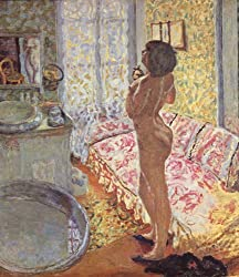ボナール「逆光の裸婦」1908年