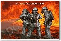 It 's A Job Few理解–新しい消防士ポスター