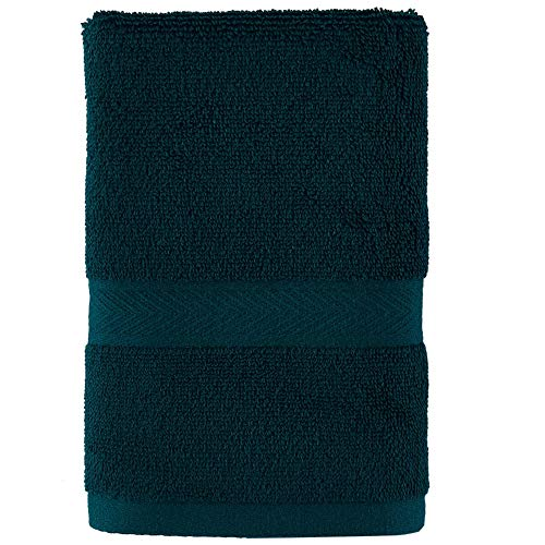 Tommy Hilfiger Modernes amerikanisches Handtuch, 100 % Baumwolle, 40,6 x 66 cm, Botanical Garden