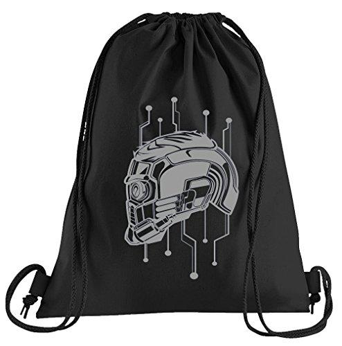 T-Shirt People Starlord Mask Sportbeutel – bedruckter Beutel – eine schöne Sport-Tasche Beutel mit Kordeln