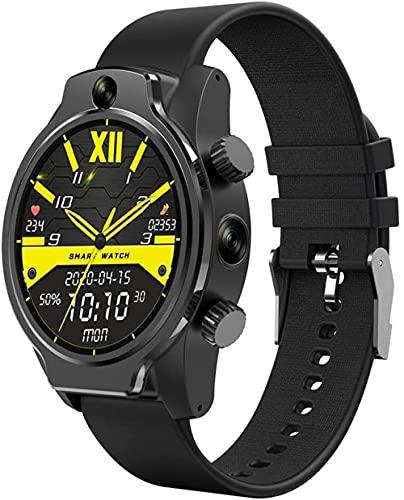 1.69 pulgadas pantalla táctil completa reloj inteligente 3G RAM 32 GB ROM reloj inteligente con GPS WIFI 1360 mAh batería cámara adecuada para hombres y mujeres