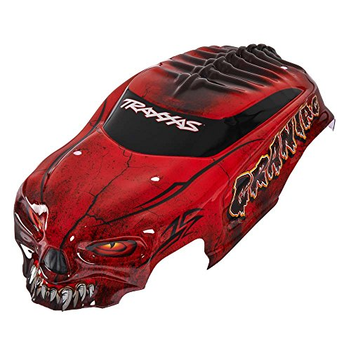 Traxxas 3634r craniac mit Aufkleber Körper Modell Kfz-Teile, Rot