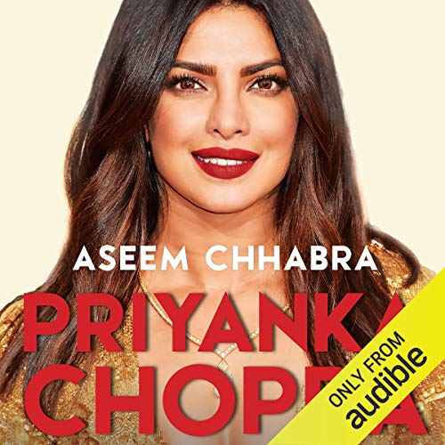 Priyanka Chopra audiobook cover art