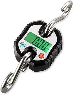 ZYJ Escala de 150 kg portátil Colgante Digital, de Alta precisión de Peso Pesca electrónica del Mini Equilibrio Ganchos Que cuelgan del Gancho Libras Llamado hogar al Aire Libre,B
