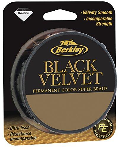 Berkley Black Velvet 0.18mm 110m, schwarz, S