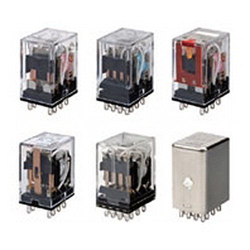 omron Mini Power Relay Super popular specialty store Single-Contact Max 48% OFF Two-Pole P Standard-Shaped