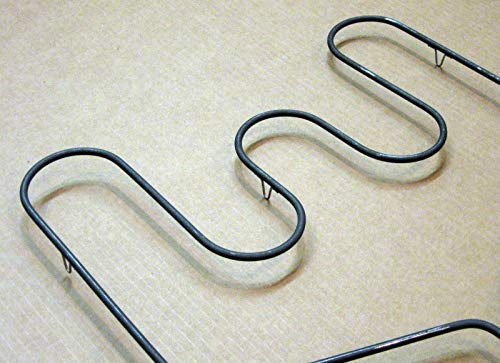 (New part) WB44X10016 for GE Range Oven Bake Heating Element AP2031067 PS249350 / firs for many models, check in description + (one free author's book)