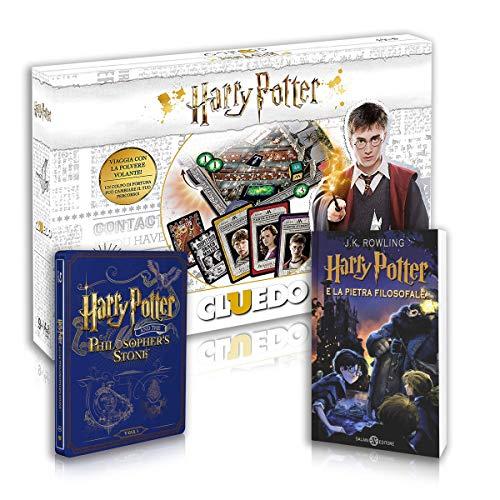 Harry Potter E La Pietra Filosofale: Libro + Steelbook + Cluedo