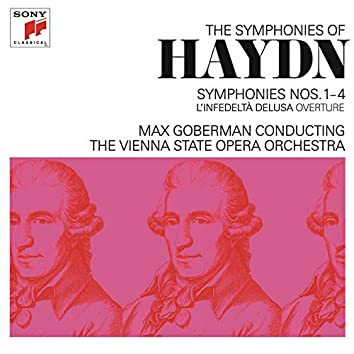 Haydn: Symphonies Nos. 1-4 & L'infedeltà delusa Overture