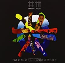 Tour Of The Universe: Barcelona 20/21.11.09 CD+DVD Edition by Depeche Mode (2010) Audio CD