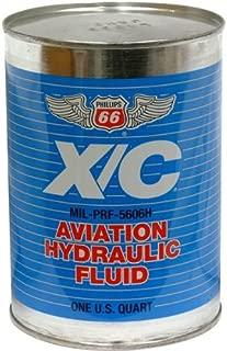 Phillips 66 X/C 5606H Aviation Hydraulic Fluid - 24/1 quart case