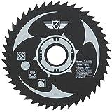 TopsTools CS8544T Lame de scie en acier rapide 85 mm 44 dents alésage 15 mm Compatible avec Worx, Bosch, Ryobi, Rockwell et beaucoup d'autres