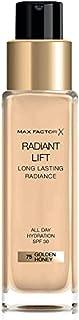Max Factor Radiant Lift Foundation in 75 Golden Honey – crèmige zachte make-up voor een adembenemende afwerking – voor een...