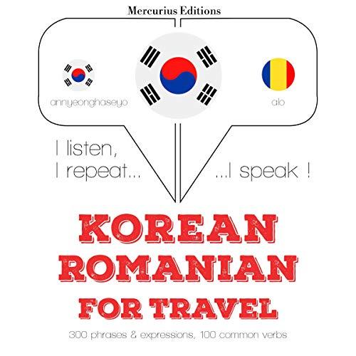 Korean – Romanian. For travel cover art