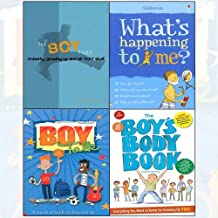 Boy Files[Flexibound],The Boy's Body Book,Growing Up,What's Happening to Me?: Boy 4 Books Collection Set