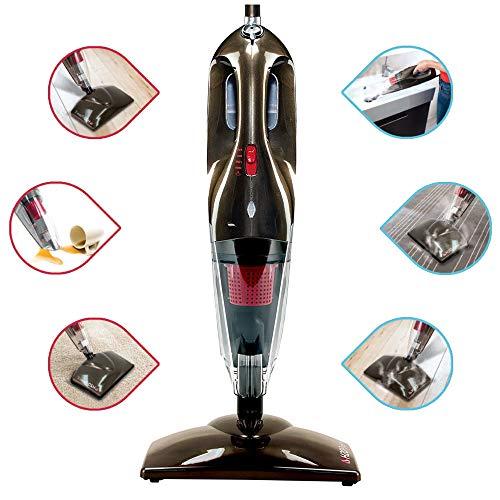 giordanoshop Scopa a Vapore H2O PowerX Macchina Lavapavimenti Igienizzante Elettrica 6 in 1 Mediashopping