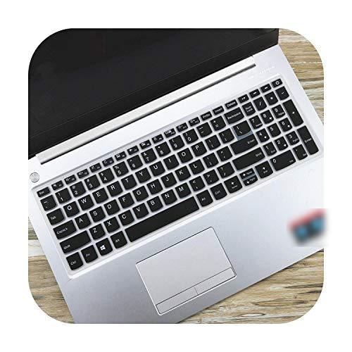 """TOIT - Funda de teclado para Lenovo Ideapad 720s 15 720S-15IKBR 330330-15ikb 330-15igm 330-15ast 330-15ich 330-15ikbr (15,6""""), color negro"""