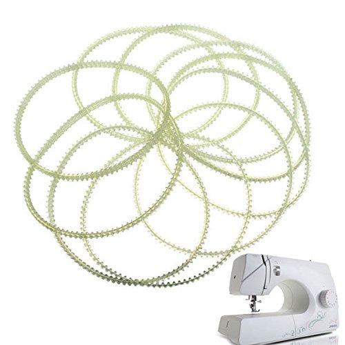 Bazaar 10 stks Huishoudelijke Naaimachine Dubbele Tanden Motor Riem Accessoires voor Zanger Vlinder Bernina