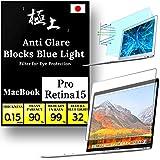 Agrado Protector de pantalla con filtro de luz azul, alta resolución [32% Anti BlueLight] película screen film (Air13 2018-2020, Pro13 2016-2020,Matte Anti Glare)