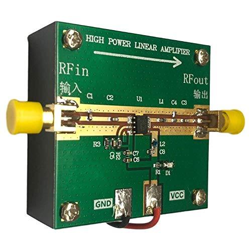 RF2126 400M-2700MHZ Broadband RF Power Amplifier 2.4GHZ 1W for WIFI Bluetooth Ham Radio Amplifier