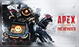 Video Game Apex Legends Pathfinder Apex Legends 3 Poster Size : 12 x 18 Inch Rolled and Packed in a Solid cardboard tube to with double protection sheet to prevent from any external damage. Ready to be Framed, Premium Quality Poster Printed with eco-...