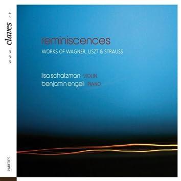 Reminiscences: Romantic Works for Violin & Piano