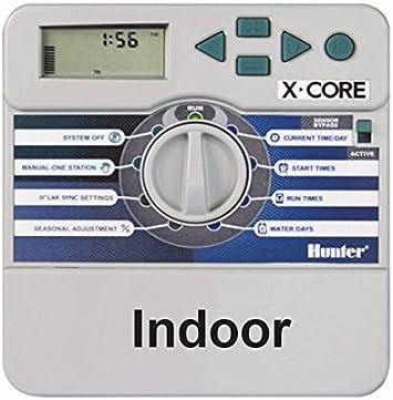 801 X-Core 8/stations HUNTER Irrigation computer 25/x 17/x 9/cm NA377