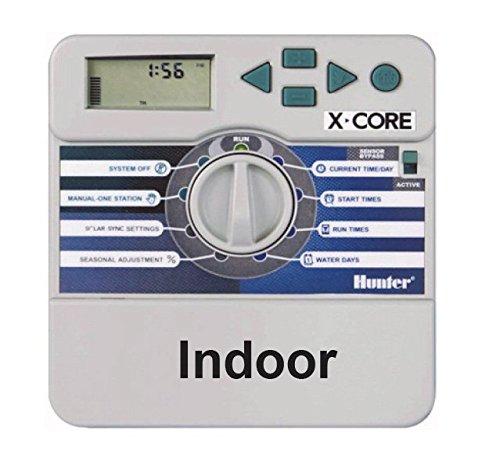 HUNTER Ordinateur d'irrigation, X-Core 801 8 Stations, Gris, 25 x 17 x 9 cm, na377